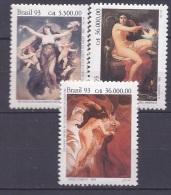 Brazil1993:Michel 2519-21 Mnh** ART Cat.Value 7,50Euros - Rotary, Lions Club