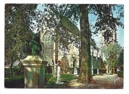 CPM - SCEAUX (92) Le Jardin Des Félibres Et L'Eglise Saint-Jean-Baptiste - Sceaux