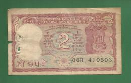 India Inde Indien - 2 Rupee / INR Banknote - 1985  P-53Ac  - Used Fine Condition As Scan - India