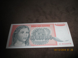 Yugoslavia 50.000.000 Dinara 1993.UNC P-123 - Jugoslavia