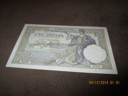 Yugoslavia 100 Dinara 1929. UNC P-27 - Jugoslavia
