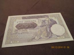Jugoslavia 100 Dinara 1941 UNC - Yugoslavia