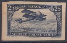Morocco 1922 Yvert#2b Imperforated, Mint Hinged - Marruecos (1891-1956)
