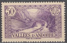 Andorra 1932 Mi#35 Mint Hinged