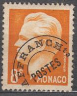 Monaco 1950 Mi#420V Mint Hinged - Unused Stamps