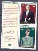 Gabon 1971 Mi#439,440 Mint Hinged