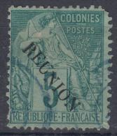 Reunion 1881 Yvert#20 Used - Usados