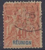 Reunion 1892 Yvert#41 Used - Réunion (1852-1975)