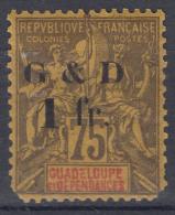 Guadeloupe 1903 Yvert#49a Mint Hinged - Neufs