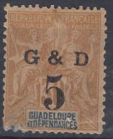 Guadeloupe 1903 Yvert#45e Mint Hinged - Neufs