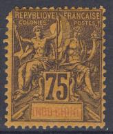 Indochina 1892 Yvert#14 Mint Hinged - Ungebraucht