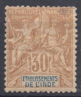 India 1892 Yvert#9 Mint Hinged - India (1892-1954)