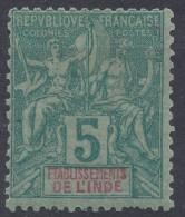 India 1892 Yvert#4 Mint Hinged - India (1892-1954)
