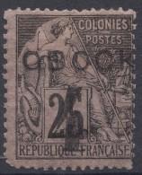 Obock 1892 Yvert#25 Used - Oblitérés