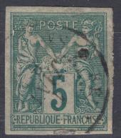 French Colonies General Issues 1877 Yvert#31 Used