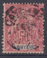 French Guiana 1892 Yvert#40 Used - Usados