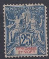 Senegambia And Niger 1903 Yvert#8 Mint Hinged - Unused Stamps