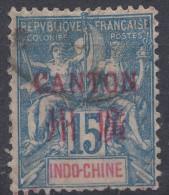 Canton 1901 Yvert#7 Used - Gebraucht