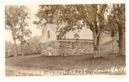16510 VT Randolph  Old Stone  School House RPC - Rutland