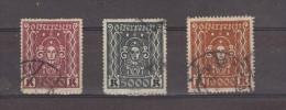 1923 - SYMBOLES / Arts Mi No 406/408 Et Yv No 323/325 - 1918-1945 1ère République