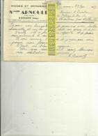 88 - Vosges - BUSSANG - Facture ARNOULD - Modes Et Mercerie – 1947 - REF C2 - 1900 – 1949