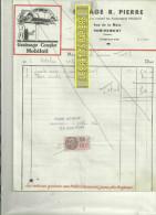 88 - Vosges - REMIREMONT - Facture PIERRE - Garage - Concessionnaire PEUGEOT – 1942 - REF C2 - France