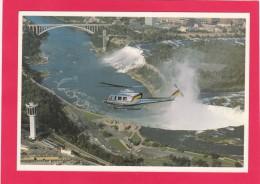 Niagara Helicopters Over The Falls, Niagara Falls, B5. - Postcards