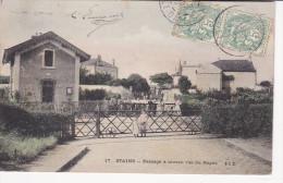 Stains  - Passage à Niveau 1907 - Stains