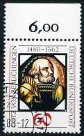 A11-50-3) BRD - Michel 1036 Oberrand - OO Gestempelt (C) - Götz Von Berlichingen - [7] República Federal