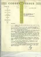 51 - Marne - CORBEIL - Facture LEIPP - Tissus – 1945 - REF C2 - France