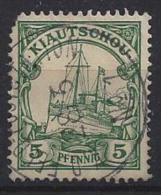 Germany (Kiautschou) 1901  (o) Mi.6 - Colony: Kiauchau