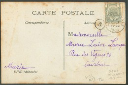 N°81 Obl. Ambulant Sc GAND-TOURNAI 2 Sur C.V. Vers Courtrai - 10276 - Postmark Collection