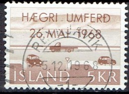 ICELAND  # STAMPS FROM YEAR 1968   STANLEY GIBBON 451 - 1944-... Republik