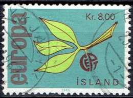 ICELAND  # STAMPS FROM YEAR 1965  STANLEY GIBBON 427 - 1944-... Republik