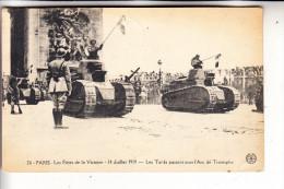 MILITÄR - PANZER / Tank / Chars / Tanque  - Paris 1919 - Ausrüstung