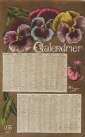 Calendrier 1917 - Illustration De M. Boutanger - Carte Idéa - Autres