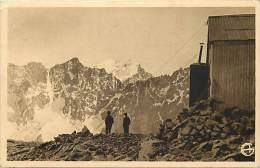 Dept Div - Haute Savoie - Ref W279 -   Le Refuge Du Planchard (3 200 M) Et Les Ecrins (4103 M ) -carte Bon Etat - - France