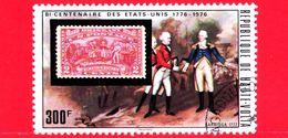 ALTO VOLTA - Nuovo Oblit. - 1975 - Bicentenario Dell'indipendenza Degli Stati Uniti - Saratoga 1777 - 300