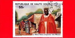 ALTO VOLTA - Nuovo Oblit. - 1980 - Personalità Della Storia Nazionale - Moro Naba, Imperatore Dei Mossis - 55