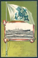 Paquebot R. P. D. BREMEN Nordd. Lloyd Warship - Guerre