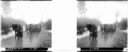 PP 0052 - GUERRE 1914-1918 -   EN  ARTOIS - Etape Sous La Neige - Glasplaten