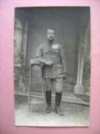 CARTE PHOTO  ALLEMAGNE - MILITAIRE - Guerre 1914-18