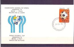 Brasil -  Brasil - Italia  - Match For 3rd Place -  Sao Paulo 24/6/78  (RM7035) - Coupe Du Monde