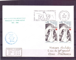 Terres Australes Et Antactiques Françaises -  Manchots Empereurs - Dumont D'Urville 15/12/80  (RM7300) - Pingouins & Manchots