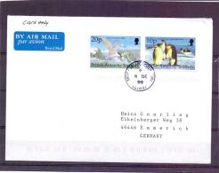 British Antarctic Territory -  6 De 99   (RM7305) - Pingouins & Manchots