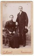 Photo L. Ménard Fontainebleau Photographie D´art Couple Robe Longue Noire - Photographs