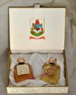 BERMUDA : Miniature De Collection Bermuda Blue & Bermuda Breezes. Rare Coffret, Parfait état - Miniaturen Damendüfte (mit Verpackung)