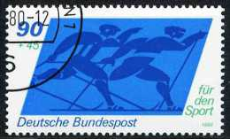 A07-54-8) BRD - Michel 1048 - OO Gestempelt (B) - 90+45Pf Sporthilfe 80 - [7] Repubblica Federale