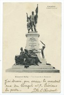 CONAKRY La Statue Du Gouverneur Ballay + Timbre Carte Ecrite En 1904 - Guinée Française