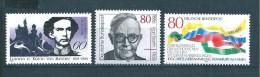 Allemagne  Fédérale  Timbres   De 1986  N° 1113  A  1115  Neufs - [7] Federal Republic